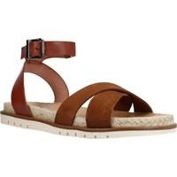 Schuhe Damen Sandalen / Sandaletten Porronet 2759P Brown
