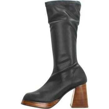 Schuhe Damen Klassische Stiefel Angel Alarcon SERENA Schwarz