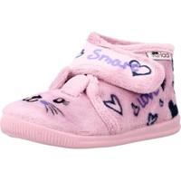 Schuhe Mädchen Hausschuhe Vulladi 3121 140 Rosa