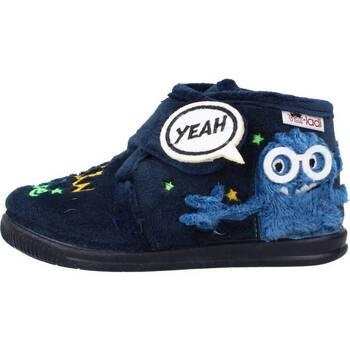 Schuhe Jungen Hausschuhe Vulladi 3122 140 Blau