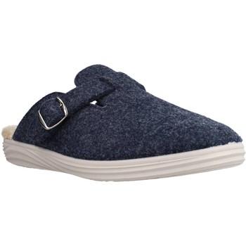 Schuhe Herren Hausschuhe Vulladi 3160 327 Blau