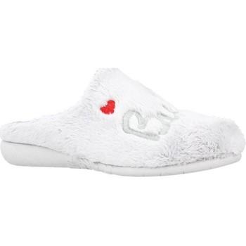 Schuhe Mädchen Hausschuhe Vulladi 3221 123 Grau