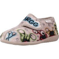 Schuhe Jungen Hausschuhe Vulladi 3257 140 Brown