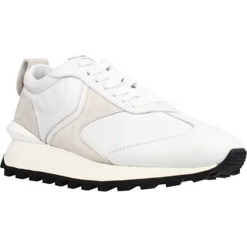 Schuhe Damen Sneaker Low Voile Blanche QWARK WOMAN Weiß