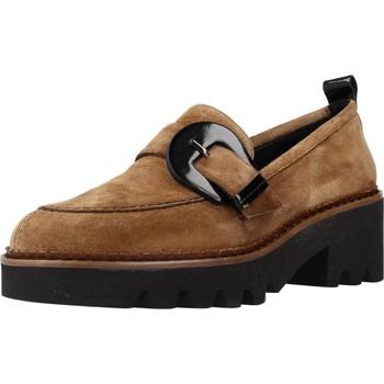 Schuhe Damen Slipper Argenta 7075D Brown