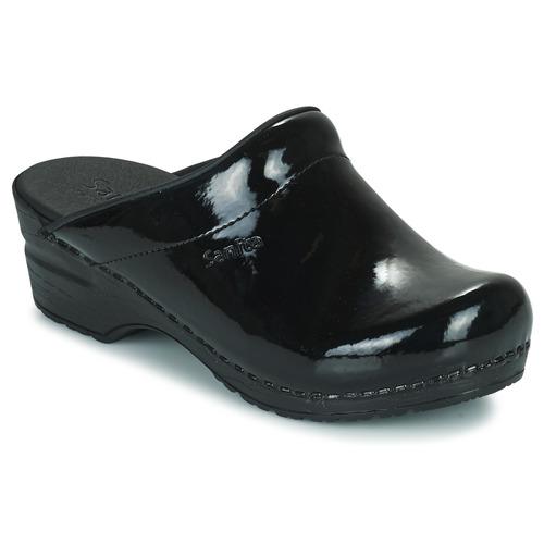 Sanita SONJA OPEN / Schwarz  Schuhe Pantoletten / OPEN Clogs Damen 59,99 9a85b4
