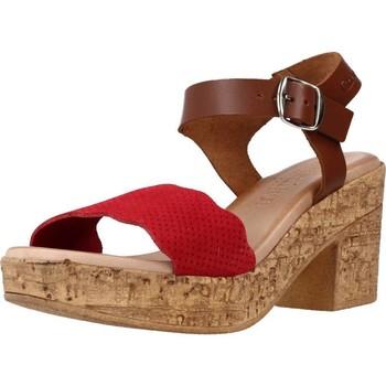 Schuhe Damen Sandalen / Sandaletten Chardi 4021CH Rot