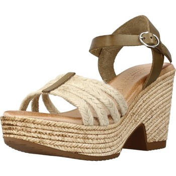 Schuhe Damen Sandalen / Sandaletten Chardi 4031CH Grün