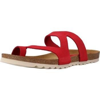 Schuhe Damen Pantoffel Chardi 4170CH Rot