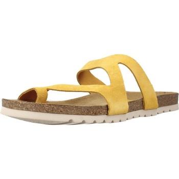 Schuhe Damen Pantoffel Chardi 4170CH Gelb