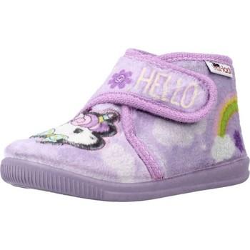 Schuhe Mädchen Hausschuhe Vulladi 3116 140 Violett