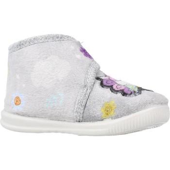 Schuhe Mädchen Hausschuhe Vulladi 3116 140 Grau