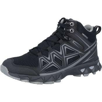 Schuhe Herren Wanderschuhe Brütting Power High schwarz