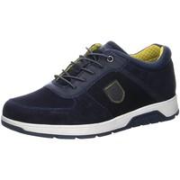 Schuhe Herren Sneaker Low Bugatti Schnuerschuhe 321A5E021400-4100 blau