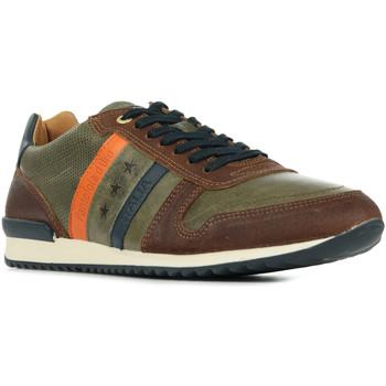 Schuhe Herren Sneaker Low Pantofola d'Oro Rizza Uomo Low Braun