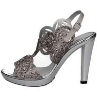 Schuhe Damen Sandalen / Sandaletten Repo 44562 SILBER