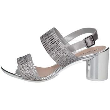 Schuhe Damen Sandalen / Sandaletten Repo 42575 SILBER