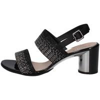 Schuhe Damen Sandalen / Sandaletten Repo 42575 SCHWARZ