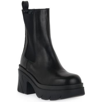 Schuhe Damen Low Boots Priv Lab NERO BEATLES Nero