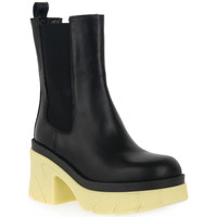Schuhe Damen Low Boots Priv Lab GIALLO BEATLES Giallo