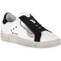 Schuhe Damen Sneaker Low At Go GO 4114 GALAXY Bianco