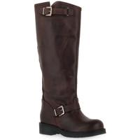 Schuhe Damen Klassische Stiefel Priv Lab MORO STIVALE Marrone
