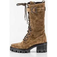 Schuhe Damen Klassische Stiefel Alpe 20351101 Beige