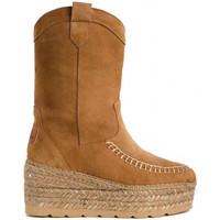 Schuhe Damen Low Boots Vidorreta 98700SRRI Braun