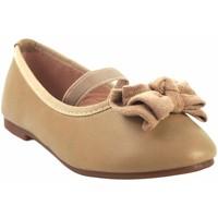 Schuhe Mädchen Ballerinas Bubble Bobble Mädchenschuh  a2702 beige Braun