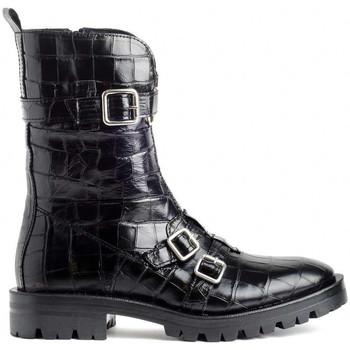 Schuhe Damen Low Boots Alpe 4084-2049 Schwarz