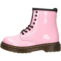 Schuhe Jungen Boots Dr Martens - Anfibio rosa 1460 T ROSA