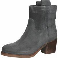Schuhe Damen Boots Shabbies Amsterdam Stiefelette Grau