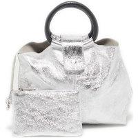 Taschen Damen Handtasche Victor & Hugo ILANA ARGENT
