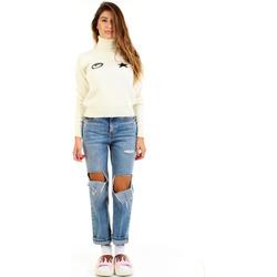 Kleidung Damen Pullover Chiara Ferragni 71CBFM02-CMM00 Weiß