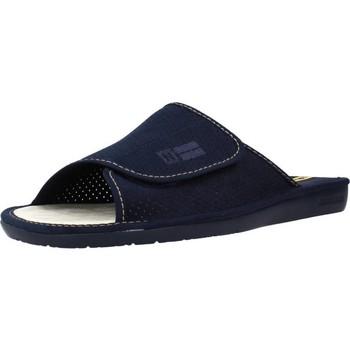 Schuhe Herren Pantoffel Nordikas 3116N 3116 Blau