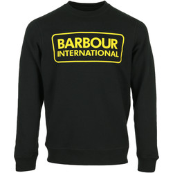 Kleidung Herren Sweatshirts Barbour Large Logo Sweat Schwarz