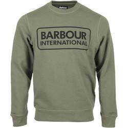 Kleidung Herren Sweatshirts Barbour Large Logo Sweat Grün