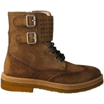 Schuhe Damen Low Boots Calce  Marrón