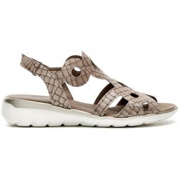 Schuhe Damen Sandalen / Sandaletten 24 Hrs 24 Hrs mod.21044 Beige