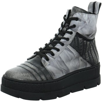 Schuhe Damen Boots Simen Stiefeletten 4227A grau