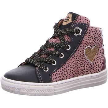 Schuhe Mädchen Sneaker High Develab High Girls Mid Cut 41620-479 blau