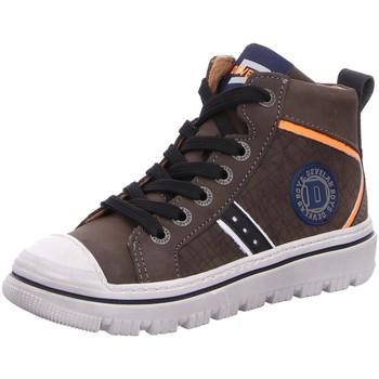 Schuhe Jungen Sneaker High Develab High Boys Mid Cut Shoe 41937-554 braun