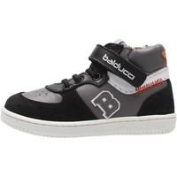 Schuhe Jungen Sneaker High Balducci - Polacchino nero/grigio MSP3840N NERO