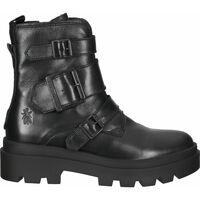 Schuhe Damen Low Boots Fly London Stiefelette Schwarz