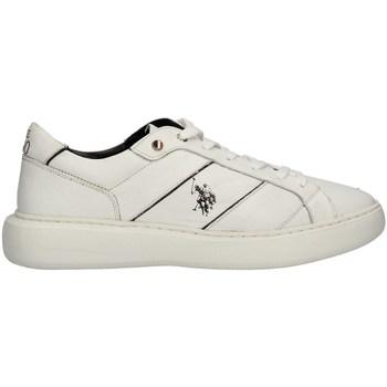 Schuhe Herren Sneaker Low U.s Polo Assn CRYME001MAI22 niedrig Harren WEISS WEISS