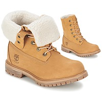 Schuhe Damen Boots Timberland AUTHENTICS TEDDY FLEECE WP FOLD DOWN Cognac