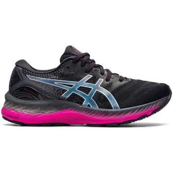 Schuhe Damen Laufschuhe Asics Gel Nimbus 23 Schwarz