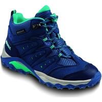 Schuhe Jungen Wanderschuhe Meindl Bergschuhe Tuam Junior Wanderschuh hell 2094-018 blau