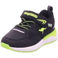 Schuhe Jungen Sneaker Kangaroos KD-Res EV jet black/neon yellow 5062