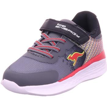 Schuhe Jungen Sneaker Kangaroos KQ-Savory EV steel grey/lemon chrome 2551